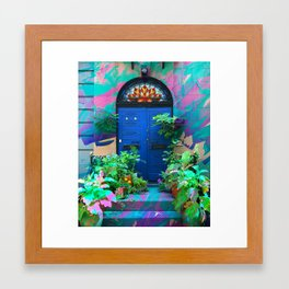 Stoop Goals Framed Art Print