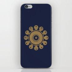 Wooden Flower iPhone & iPod Skin