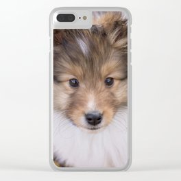Jamie pup Clear iPhone Case