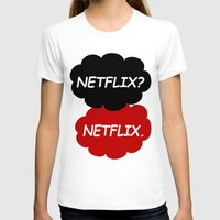 netflix T-shirts featuring Netflix Netflix by Goes4