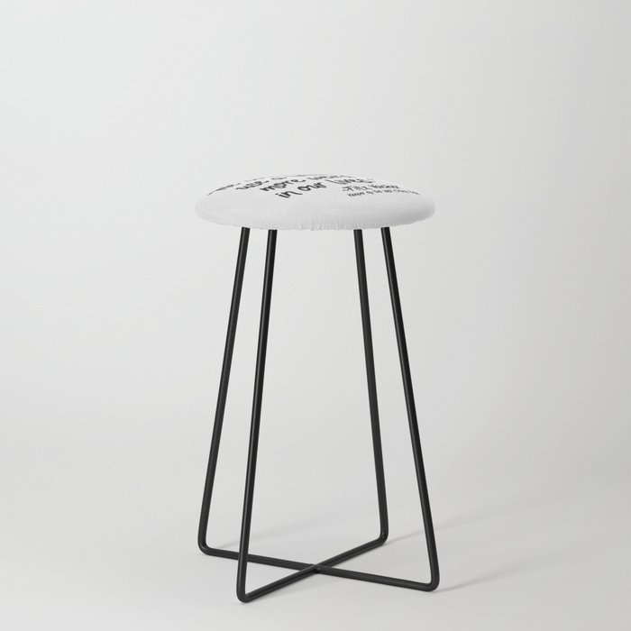 Fan-favorite Fitz Quote Counter Stool