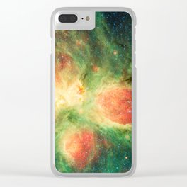 Close Up Cat's Paw Nebula NGC 6334 Clear iPhone Case