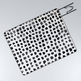 Watercolor Dots Picnic Blanket