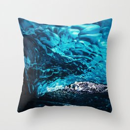 Ice Water Throw Pillow