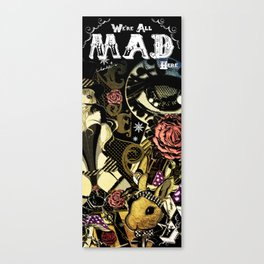 MAD ALICE: HATTER Canvas Print