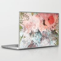 west coast Laptop & iPad Skins featuring West Coast Waters by Taylor Rose