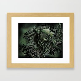 Bi-Polar Framed Art Print