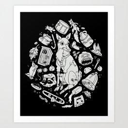 Schooltown Follies Art Print