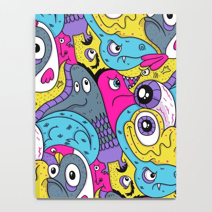Idiot Bird Pattern Notebook