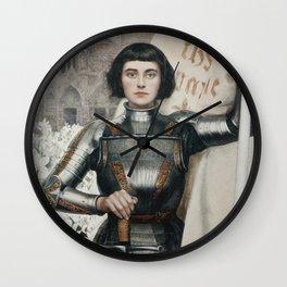 JOAN OF ARC - A.LYNCH  Wall Clock