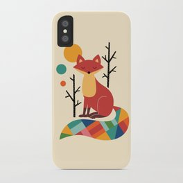 Rainbow Fox iPhone Case