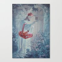 thegnarledbranch Canvas Prints featuring Part time Job by TheGnarledBranch