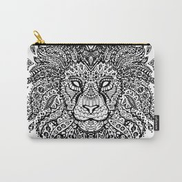 Lion Mandala Carry-All Pouch