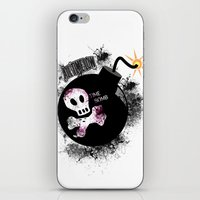 time low iPhone & iPod Skins featuring ALL TIME LOW by Andrea Valentina