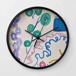 Life's fingerprints Wall Clock