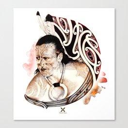 Toa Maori Canvas Print