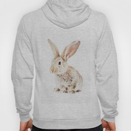 Wild Bunny Watercolor Hoody