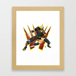 The Clawed Mutant Framed Art Print