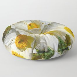 Mexican Poppies Floor Pillow