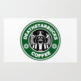 Deathstarbucks Coffee Rug