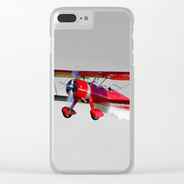 Plane-ing Clear iPhone Case