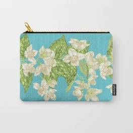 Infinitive Jasmine Branch Carry-All Pouch
