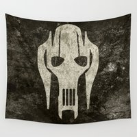general Wall Tapestries featuring General Grievous by Some_Designs