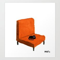 Favorite Chair Art Print
