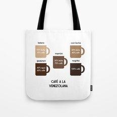 Café a la Venezolana Tote Bag