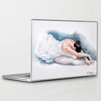 ballet Laptop & iPad Skins featuring Ballet by rchaem