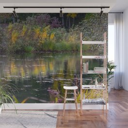 Channel in the Fall Wall Mural