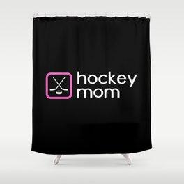 Hockey Mom (Pink) Shower Curtain