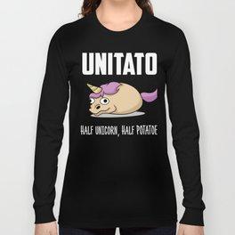 Funny Unicorn potatoe product - perfect present Long Sleeve T-shirt