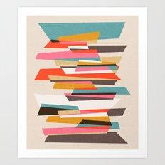 Fragments VII Art Print