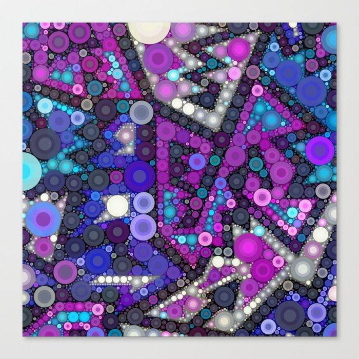 Hipster Bubbles Canvas Print
