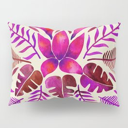 Tropical Symmetry – Magenta Pillow Sham