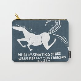 Unicorn Poops Carry-All Pouch