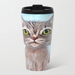 Kitty Kitty Metal Travel Mug