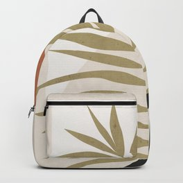 Tropical Leaf- Abstract Art 9 Backpack
