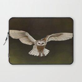 Stunning Hand Drawn Barn Owl  Laptop Sleeve