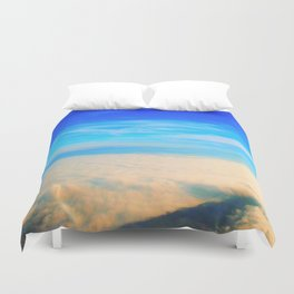 Sky love Duvet Cover
