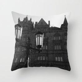 The Ocean Building, Belfast Throw Pillow