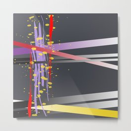 Lightray Cyberspace Metal Print