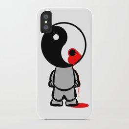 Yin Yang Heart iPhone Case