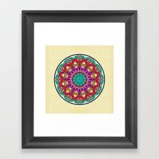 Flower of Life variation 2 Framed Art Print