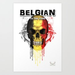 To The Core Collection: Belgium Art Print