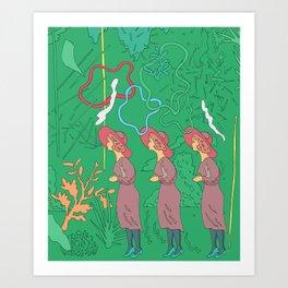 Ladies' Constitutional Art Print