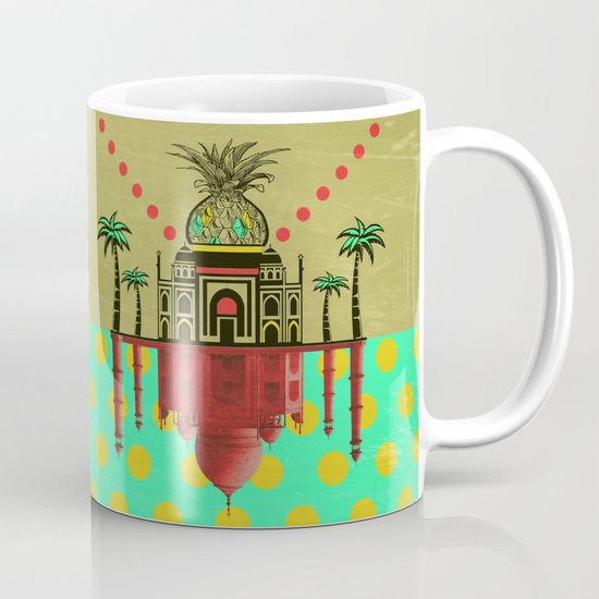 pineapple architecture 2 Mug