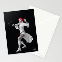 Princess Leia Strikes Back Stationery Cards