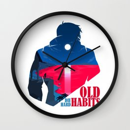 Old Habits(Beta) Wall Clock